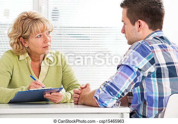 Doctor and patient - csp15465963