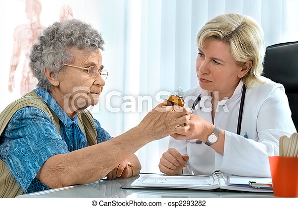 doctor and patient - csp2293282