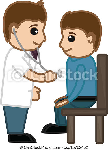 Doctor Checking Up Patient