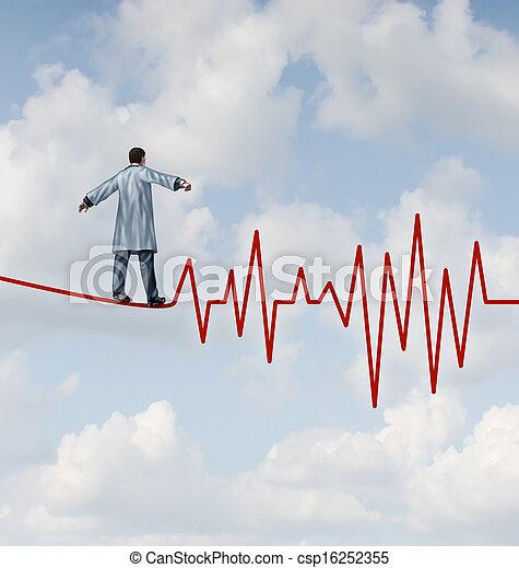 Doctor Diagnosis Danger - csp16252355