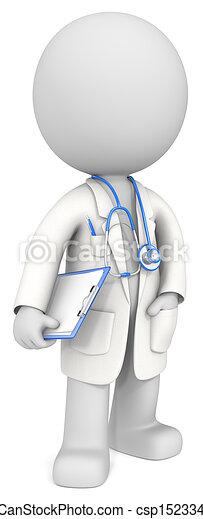 El doctor. - csp15233432