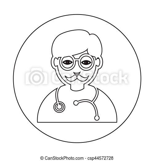 Doctor Icon - csp44572728
