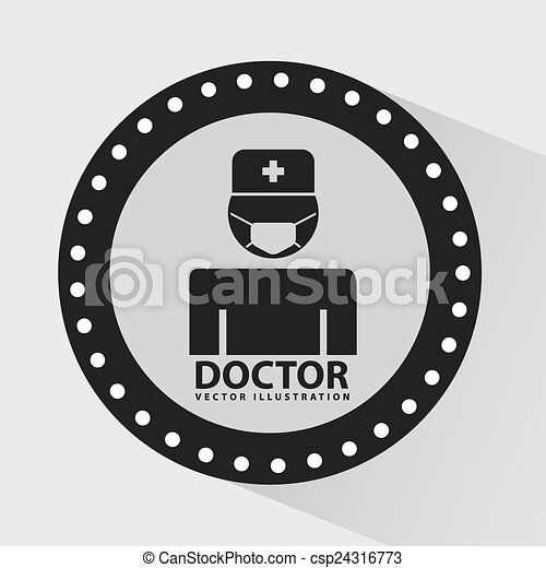 doctor icon  - csp24316773