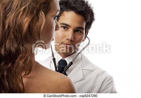 Speaking, would listening to adult female heart beat with stethoscope