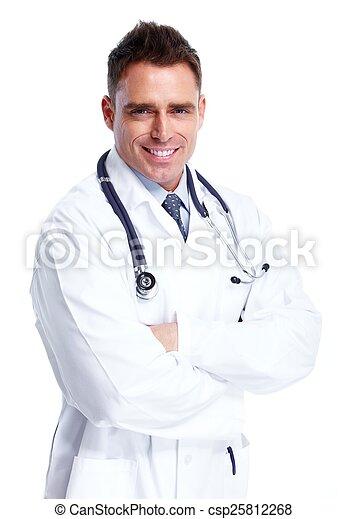 Doctor man. - csp25812268