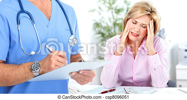 Doctor Psychiatrist And Patient Doctor Psychiatrist And Woman