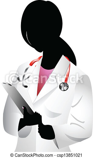 Doctor Silhouette - csp13851021