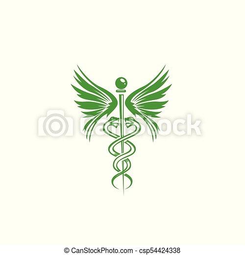 Doctor Symbol In Green Vector Illustration Green Doctors Vectors