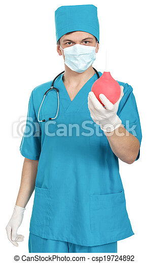 Nurse Syringe Enema Stock Photo 69173734 - Shutterstock