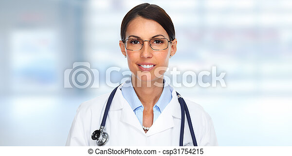 Doctor woman. - csp31754215