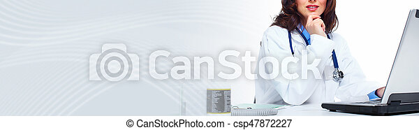 Doctor woman - csp47872227