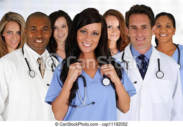 Doctors and Nurse - csp11192052
