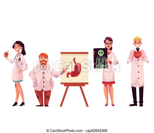 doctors general practitioner  radiologist  heart surgeon Free Clip Art for Medical Use Funny Medical Clip Art Free