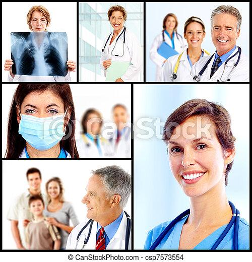 doctors. - csp7573554