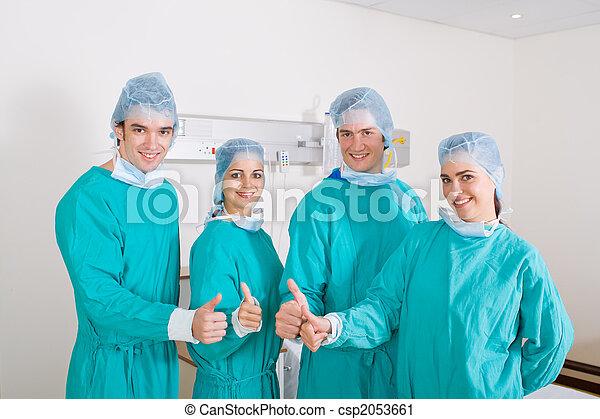 Doctors team - csp2053661