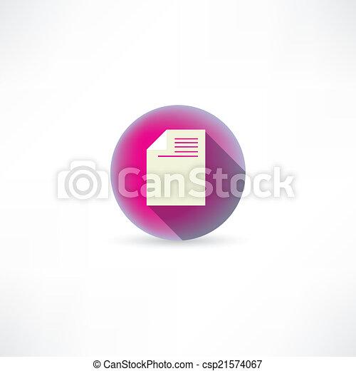document icon - csp21574067
