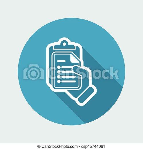 Document icon - csp45744061