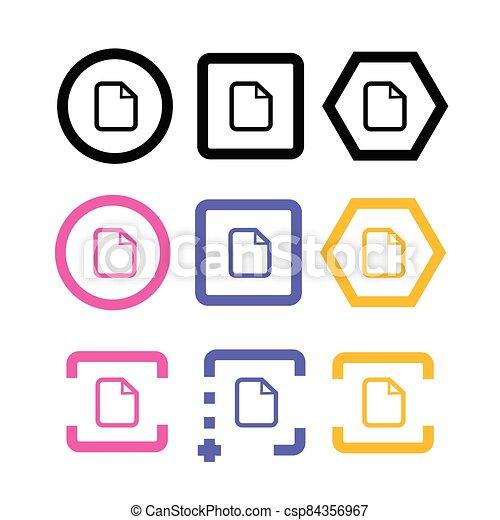 document icon - csp84356967