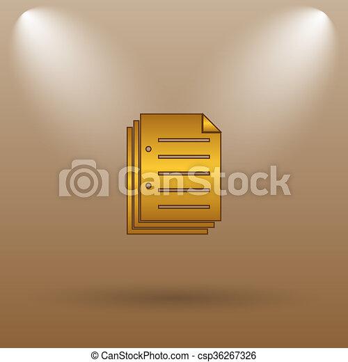 Document icon - csp36267326