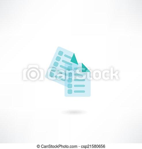 Document Icon - csp21580656