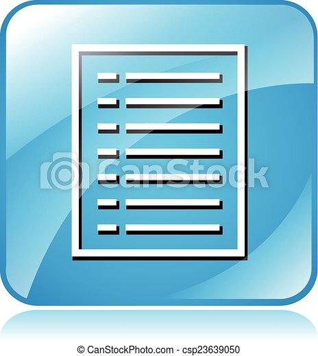document icon - csp23639050