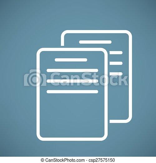 Document Icon - csp27575150