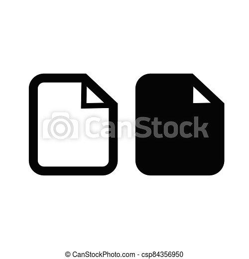 document icon - csp84356950