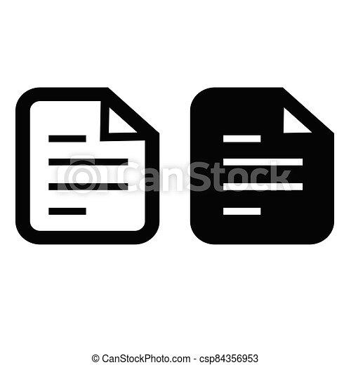 document icon - csp84356953