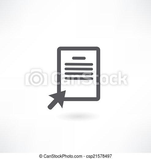 Document Icon - csp21578497