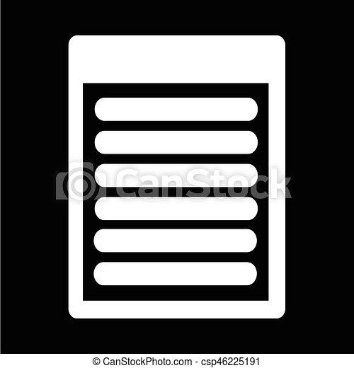 Document icon - csp46225191