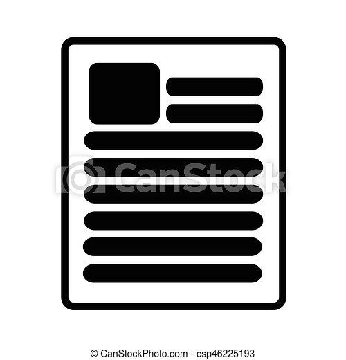Document icon - csp46225193