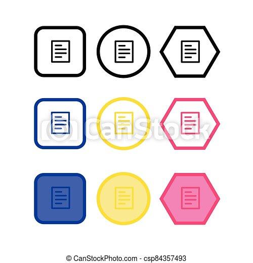 document icon - csp84357493