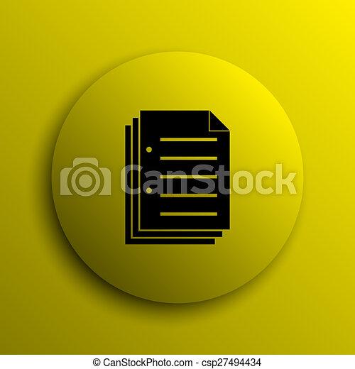 Document icon - csp27494434