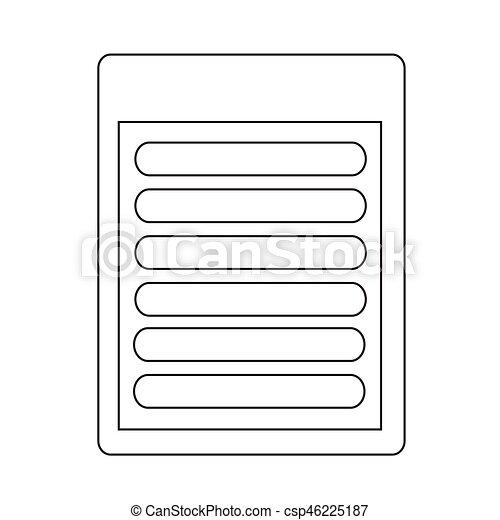 Document icon - csp46225187