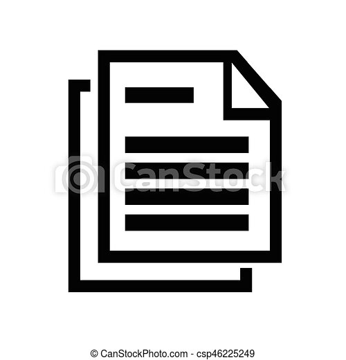 Document icon - csp46225249