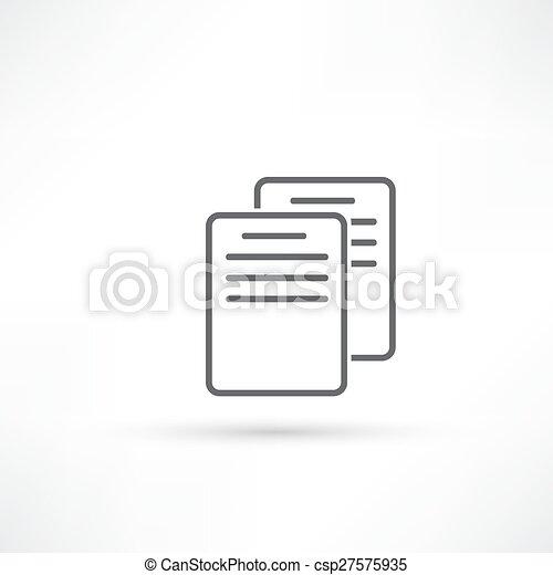 Document Icon - csp27575935