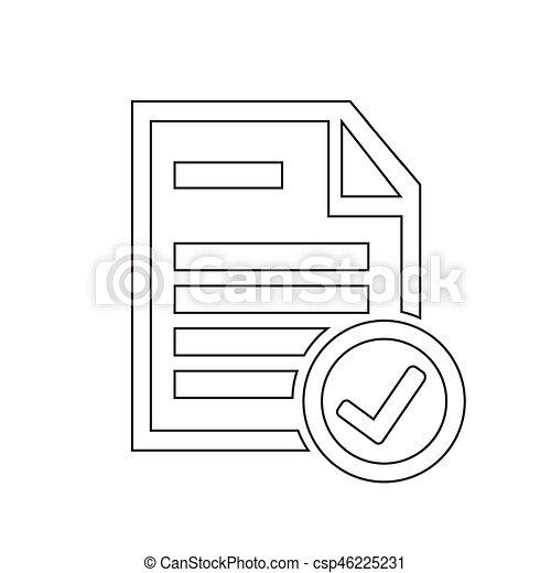 Document icon - csp46225231