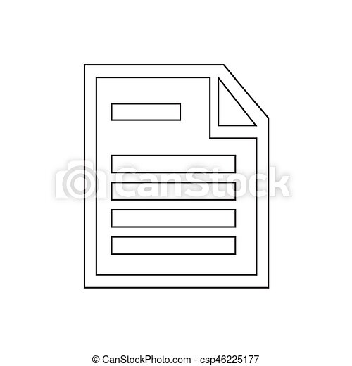 Document icon - csp46225177