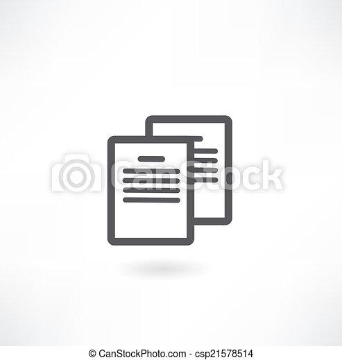 Document Icon - csp21578514