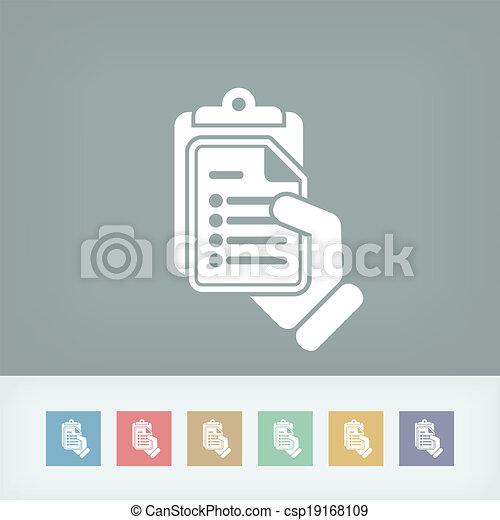 Document icon - csp19168109