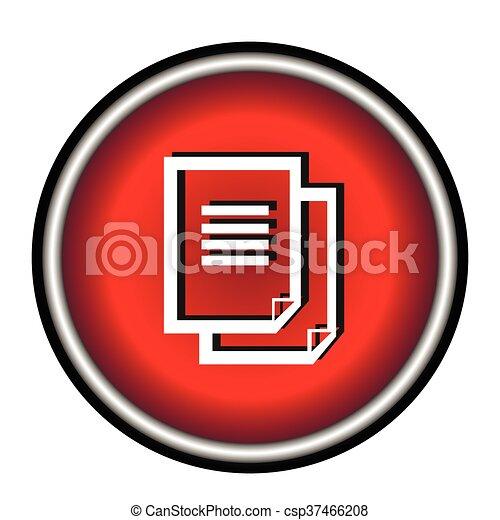 Document icon. - csp37466208