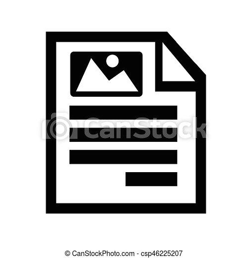 Document icon - csp46225207