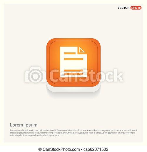 Document Icon - csp62071502