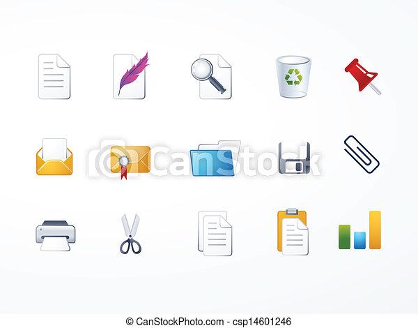 documento, jogo, ícone - csp14601246
