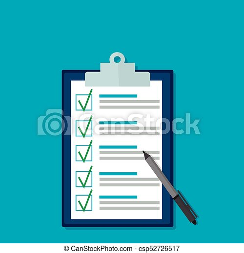 documento, pieno, quiz - csp52726517