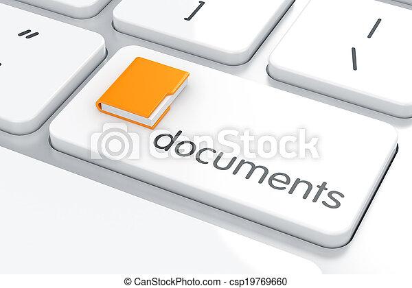 El concepto de documentos - csp19769660