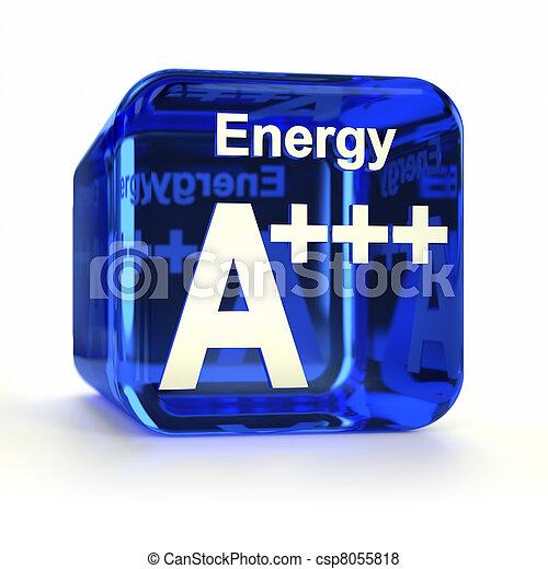 doelmatigheid, energie, a+++, classificatie - csp8055818