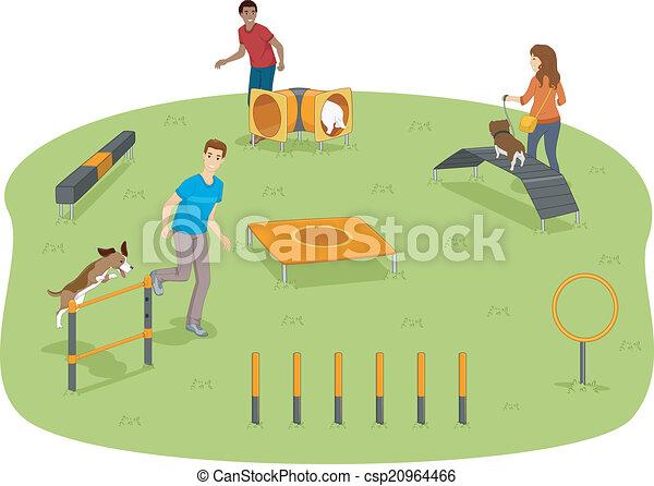Dog Agility Test - csp20964466