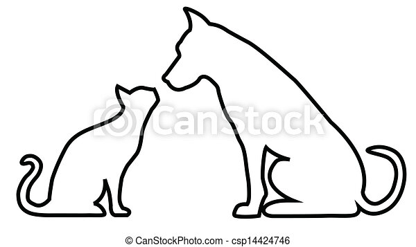 Dog and cat composition. - 15.4KB
