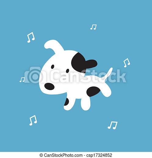 dog cartoon - csp17324852
